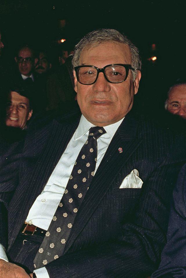 دمشق 1989 - فريد شوقي في افتتاح مهرجان دمشق السينمائي السادس
