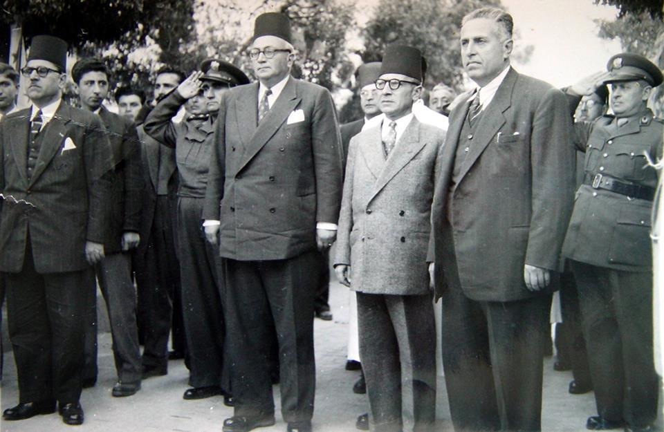 زيارة خالد العظم رئيس الحكومة إلى اللاذقية في شباط 1950