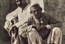 شخصان من اللاذقية  عام 1880 تقريباً