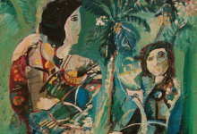 نساء من تدمر .. لوحة للفنان أحمد مادون (19)