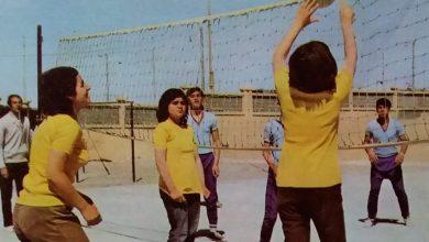 صورة الرقة 1972- طلاب أحد مدارس مدينة الطبقة