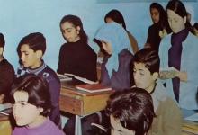 صورة الرقة 1972- مدرسة عبد الناصر في الطبقة
