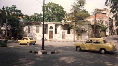 اللاذقية - شارع بغداد في تسعينيات القرن الماضي..