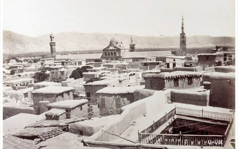 دمشق 1890- المسجد الأموي