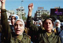 دمشق 1999- مظاهرة تضامنية مع العراق (2)