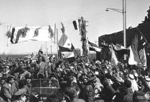صورة جمال عبد الناصر في السويداء بمناسبة العيد الثانى للوحدة عام 1960م (4)