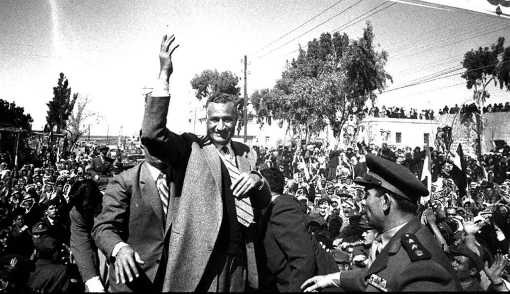 جمال عبد الناصر في السويداء بمناسبة العيد الثانى للوحدة عام 1960م (2)