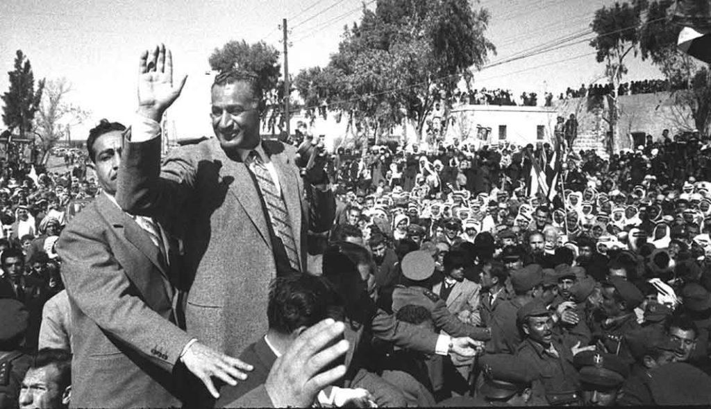 جمال عبد الناصر في السويداء بمناسبة العيد الثانى للوحدة عام 1960م (1)