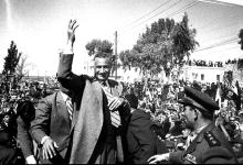صورة جمال عبد الناصر في السويداء بمناسبة العيد الثانى للوحدة عام 1960م (2)
