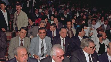 دمشق 1989 -  افتتاح مهرجان دمشق السينمائي السادس (2)