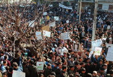 دمشق 1999- مظاهرة تضامنية مع العراق (1)