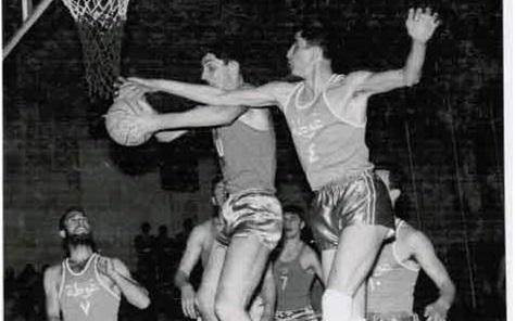 دمشق 1967- من مباراة فريق نادي الغوطة وفريق دينامو - موسكو
