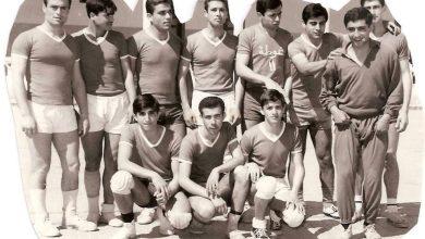 صورة دمشق – فريق نادي الغوطة بكرة اليد عام 1967