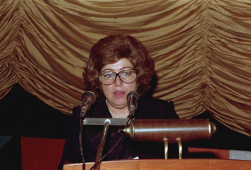 دمشق 1989- نجاح العطار في افتتاح مهرجان دمشق السينمائي السادس (2)