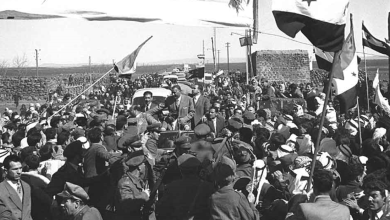 جمال عبد الناصر في السويداء بمناسبة العيد الثانى للوحدة عام 1960م (5)