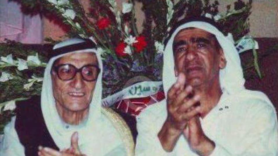 الرقة - مصطفى ومحمد علي العجيلي في حفل زفاف