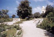 اللاذقية - جزءٌ من الكازينو وحديقة البطرني عام 1955م