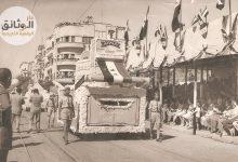 صورة مهرجان القطن بحلب 1960م في ساحة سعد الله الجابري