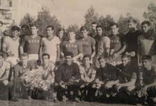 منتخب حلب بكرة القدم والمنتخب الأولمبي السوفيتي عام 1966