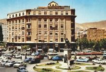 صورة دمشق – بوابة الصالحية في نهاية ستينيات القرن العشرين