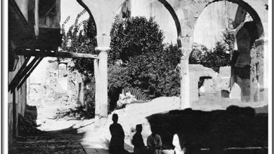 صورة دمشق 1910- الكلاسـة..ضريح الناصر صلاح الدين الأيوبي