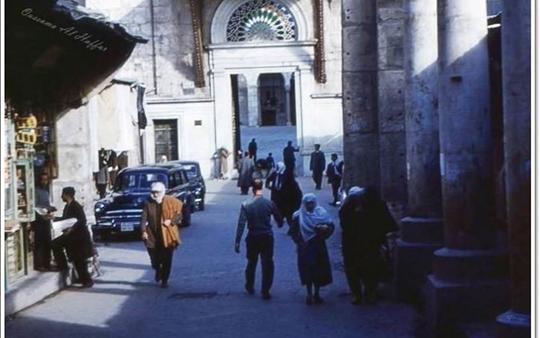 دمشق - سوق المسكية عام 1951