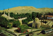 صورة دمشق – التكية السليمانية من الجهة الجنوبية