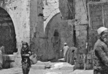 صورة دمشق 1922- مسجد منجك في الميدان