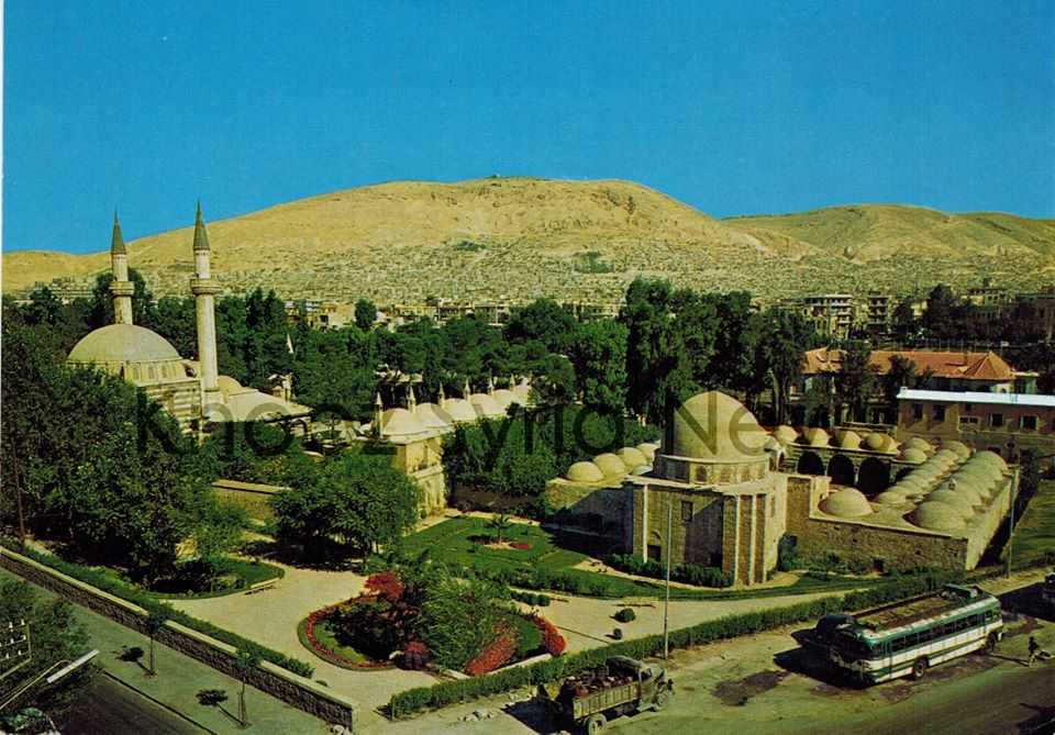 دمشق - التكية السليمانية من الجهة الجنوبية