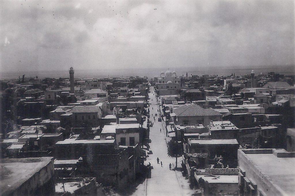 اللاذقية من مسجد المغربي باتجاه البحر .. منتصف القرن العشرين