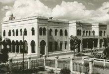 صورة اللاذقية في أواخر الخمسينيات – الكازينو من حديقة قصر إميل سعادة
