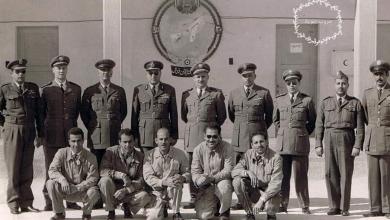 صورة السرب السوري في مصر أيام الوحدة- سرب الميغ 17