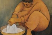 صورة الغسالة 3 .. لوحة للفنان لؤي كيالي (23)