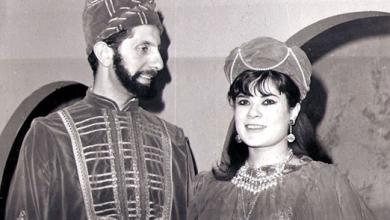 صورة رياض نحاس و أميمة الطاهرفي مسلسل (أبجد هوز)
