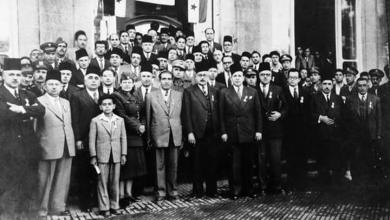 صورة دمشق 1942- المشاركون في تأسيس الهلال الأحمر السوري