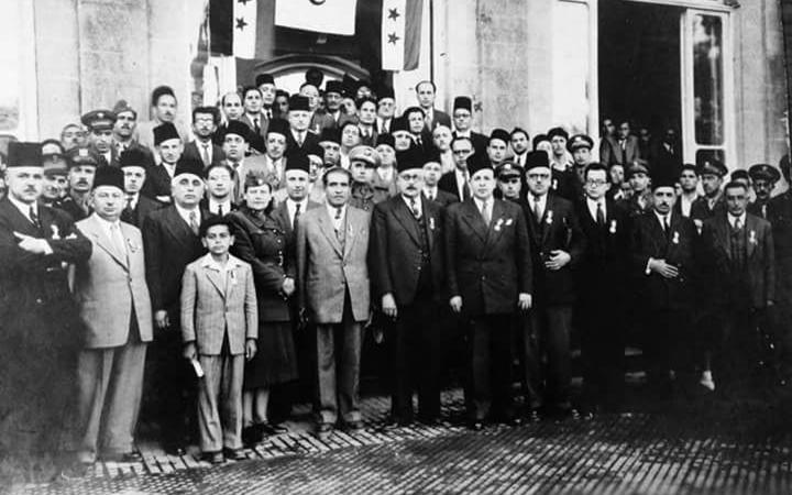 دمشق 1942- المشاركون في تأسيس الهلال الأحمر السوري