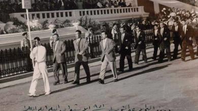 صورة القاهرة 1951- الوفد السوري المشارك بدورة البحر الأبيض المتوسط الأولى بالاسكندرية