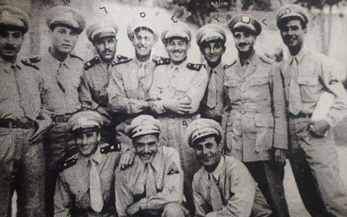 الجيل الأول من طياري سورية عام 1947