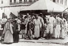 صورة دمشق 1900- خيمة العيد في سوق الخيل