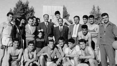 دمشق 1959- مباراة بين ثانوية التجهيز الأولى والثانية