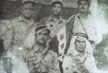 صورة إنشقاق ضباط دير الزور عن الجيش الفرنسي ورفع العلم السوري 1945