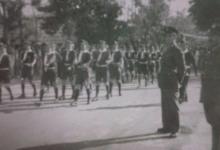 صورة اللاذقية 1947- عرض عسكري في ساحة الشيخضاهر بمناسبة عيد الجلاء
