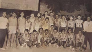 دمشق - نادي الشبيبة - الجلاء عام 1951