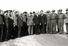 عدنان الخطيب محافظ اللاذقية يضع حجر الأساس لأحد المشاريع 1962