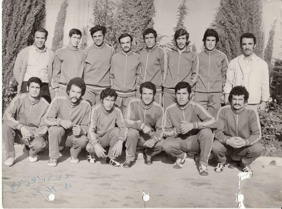 أعضاء منتخب سورية للملاكمة عام  1973