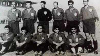 المنتخب السوري المشارك بدورة البحر الأبيض المتوسط في الاسكندرية عام 1951