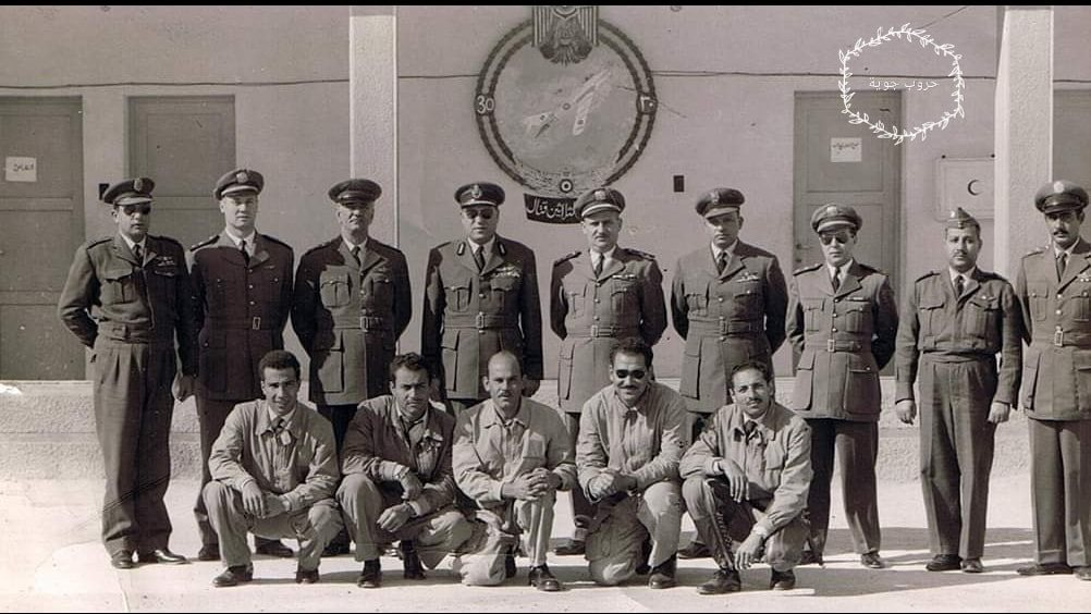 السرب السوري في مصر أيام الوحدة- سرب الميغ 17