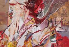 تكوين .. لوحة للفنان أحمد مادون (23)