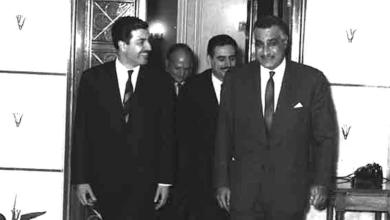 صورة جمال عبد الناصر يستقبل إبراهيم ماخوس – حزيران 1966 (4)