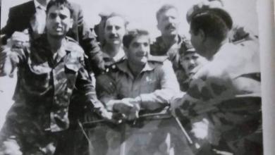 صورة استقبال سليم حاطومعند عودته من كوبا – ربيع عام 1966م